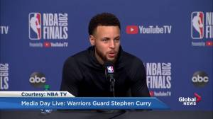 Steph Curry says Toronto is 'special' to him because of his father
