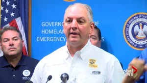 Louisiana Gov. says rain bands from Hurricane Harvey could bring more tornadoes