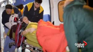 Antarctic evacuees arrive at hospital in Chile