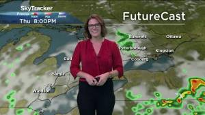 Heat and humidity building into the weekend with chance of showers and risk of a thunderstorm