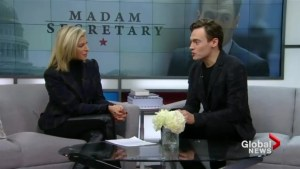 Erich Bergen on his show 'Madam Secretary'