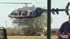 Helicopters airlift Texas church shooting victims to medical facilities