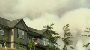 Controlled burning taking place near Williams Lake