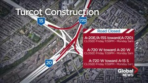 Major road closures to downtown Montreal this weekend