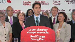 Saddened Trudeau lays migrant blame at hands of Tories, calls for immediate acceptance of 25,000 Syrians