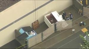 Gruesome discovery in Langley dumpster