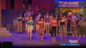 Broadway star helps Edmonton students with high school musical