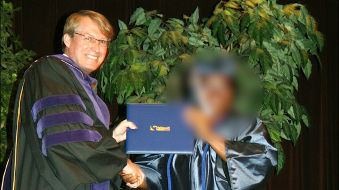 College president fired for allowing homeless student to sleep in library for a night