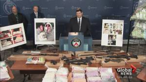 Toronto police seize $14 million worth of drugs in 'Project Beyond'