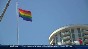 Twitter-activated Pride flag
