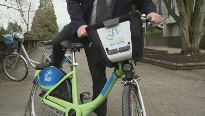 City of Vancouver signs $5-million deal for five-year 'Smart Bike