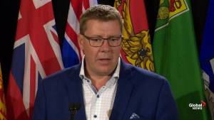 Saskatchewan Premier Scott Moe talks inter-provincial trade