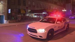 RAW: Downtown Montreal stabbing (00:40)