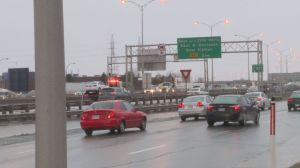 Highway 40 West accident involves several cars