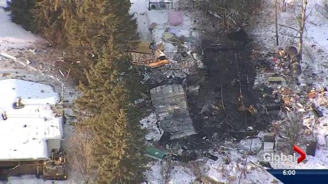 Sandy Lake House Explosion Shakes Community Northwest Of