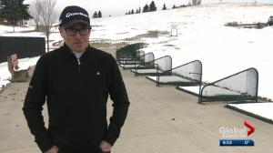 Winter-like weather not welcome for golfers in Edmonton