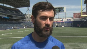 RAW: Blue Bombers Alex Ross Interview