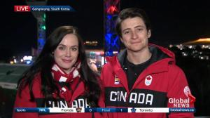 Tessa Virtue and Scott Moir 'on top of the world' after Olympic gold