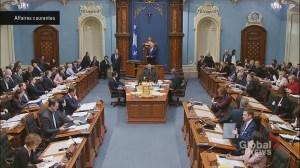 Quebec National Assembly short session wraps up