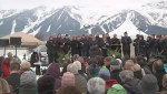 Community memorial service held for three men killed in Fernie
