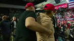 Man wearing 'MAGA' hat escorted out of Texas rally after allegedly shoving BBC cameraman