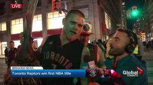 "NBA Finals: Raptors' fan ""Plant Guy"" has housewarming gift for Kawhi Leonard"