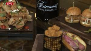 Fairmont Hotel Macdonald cooking up good eats for Stamps House 2018 (02:50)