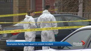 Children escape suspected murder-suicide in Brampton