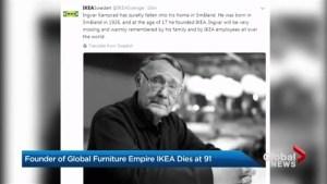 IKEA founder Ingvar Kamprad passes away