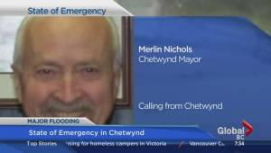 Local state of emergency declared in District of Chetwynd