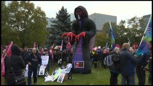 Health Care Rally at Queen's Park