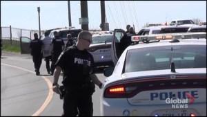 Heavy police presence near Highway 115 in Peterborough