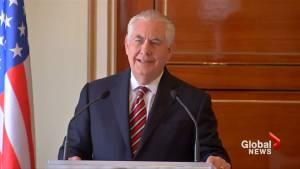 Tillerson says Trump-Kim talks 'some weeks' away