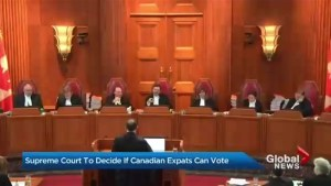 Supreme Court to decide if Canadian expats can vote
