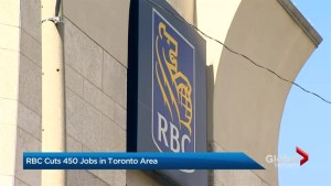 RBC to cut 450 jobs at GTA headquarters