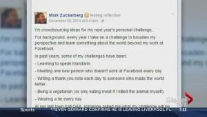 Mark Zuckerberg looks for a new challenge