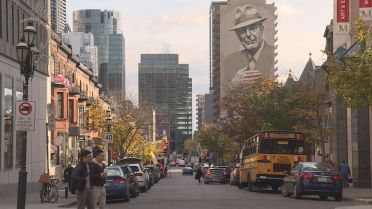 Massive Leonard Cohen Mural Inaugurated In Downtown Montreal