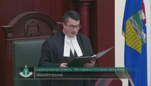 Speaker rules against NDP in earplug complaint
