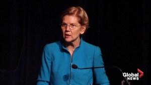Sen. Elizabeth Warren calls for FEMA head to resign during Puerto Rico campaign stop