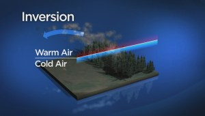 Animation shows how inversion helped Fort Mac Fire intensify
