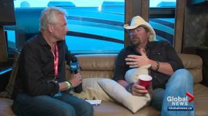 Interview with Toby Keith at BVJ