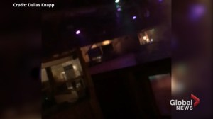 Patron captures scene inside California bar as he escapes during shooting
