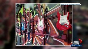 Autographed guitars stolen from Edmonton charity