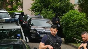 Home of main suspect in French explosion that injured 13 people