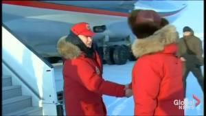 Vladimir Putin visits Arctic archipelago