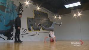 Alberta girl heads into battle at breakdancing competition in Japan (01:50)
