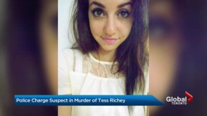 Police charge Toronto man with murder in Tess Richey's death