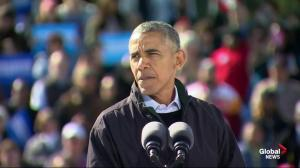 Obama says Trump will not make an 'honourable' president