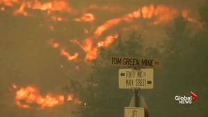 California wildfire spreads to 2,500 acres