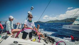 All-female sailing crew tours the world to support girls' education